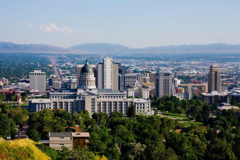 Skyline of Utah