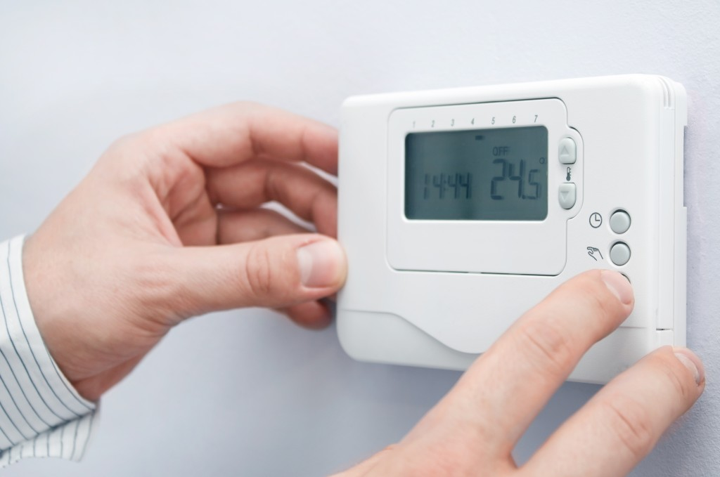 using the thermostat
