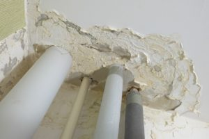 house pipes in need of repair