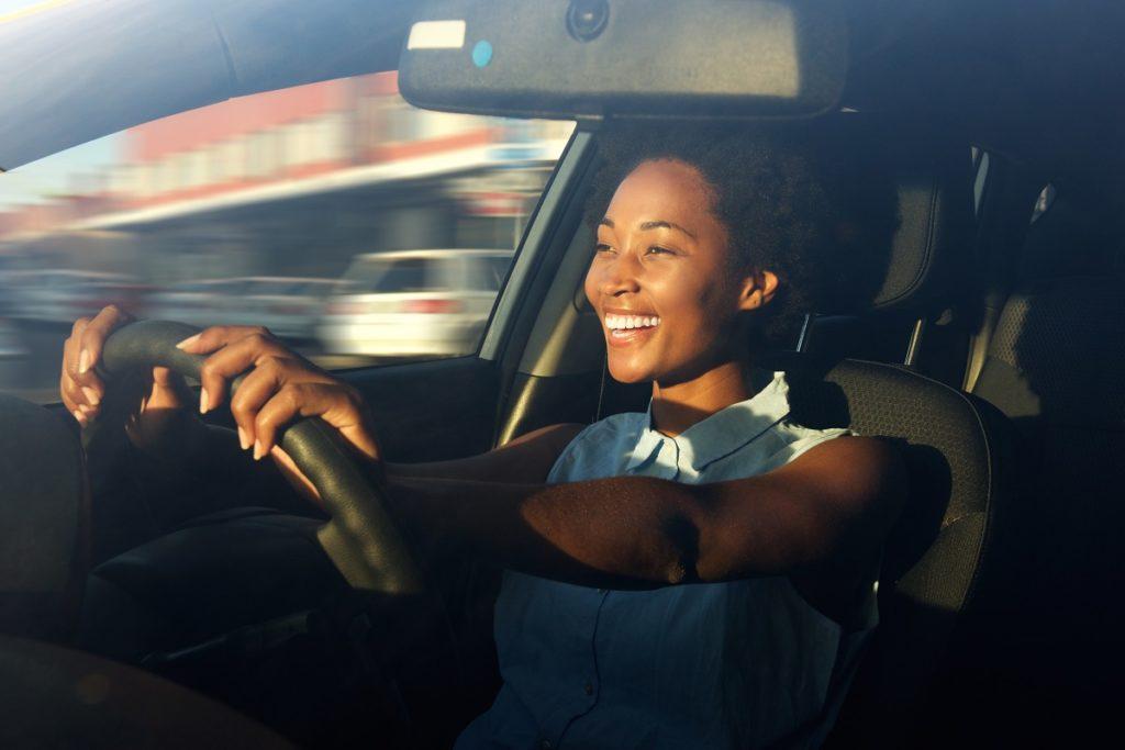 girl driving