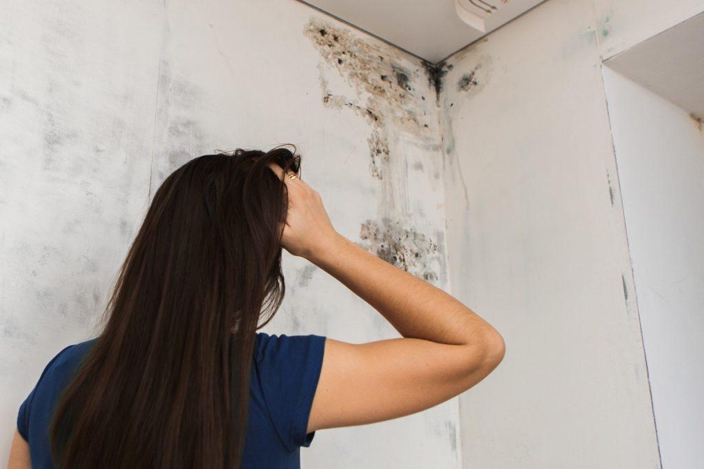 girl finding molds