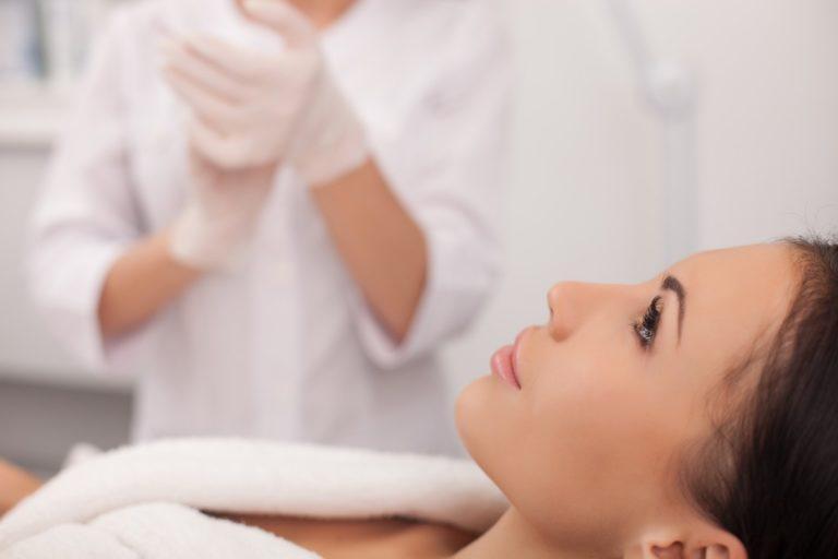 woman ready for botox