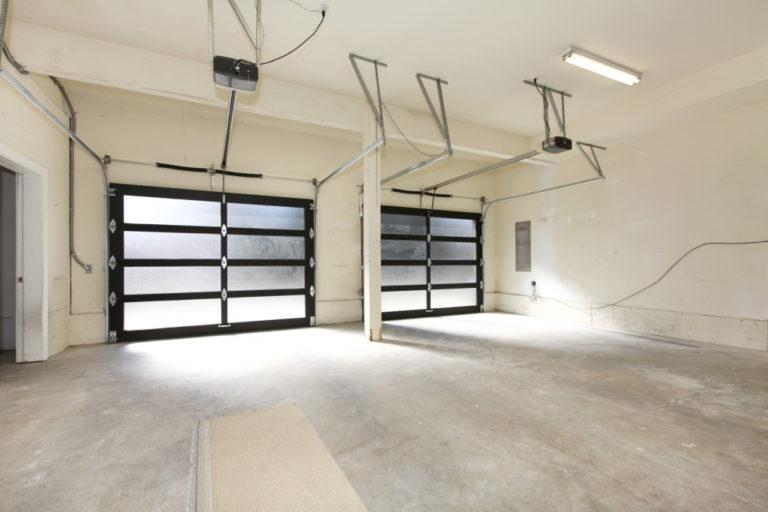 open garage space