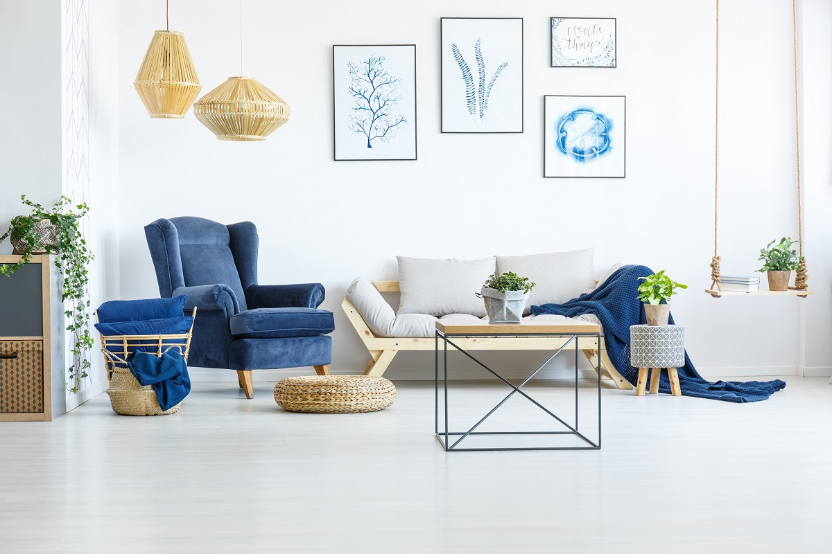 modern trendy interior