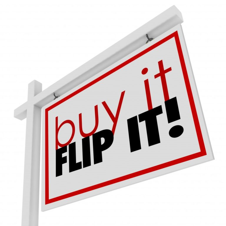 buy it flip it sign