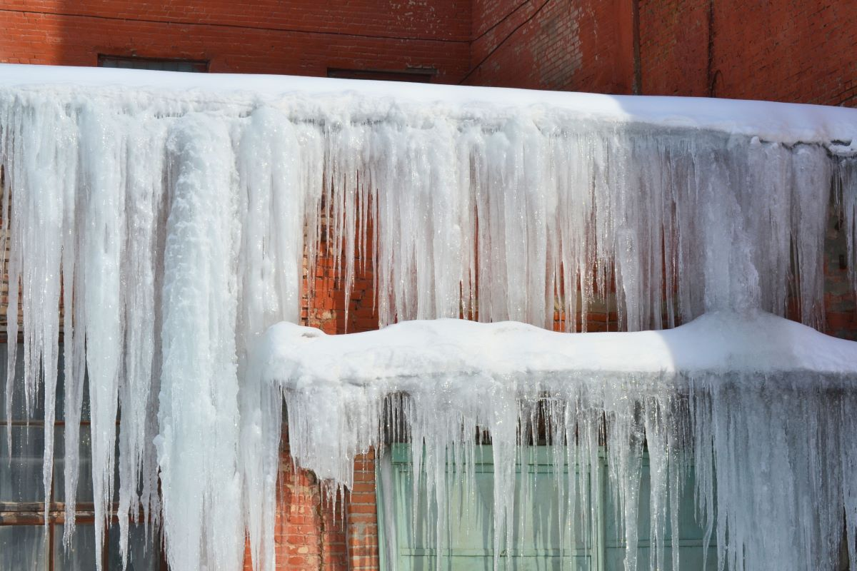 icicle formation