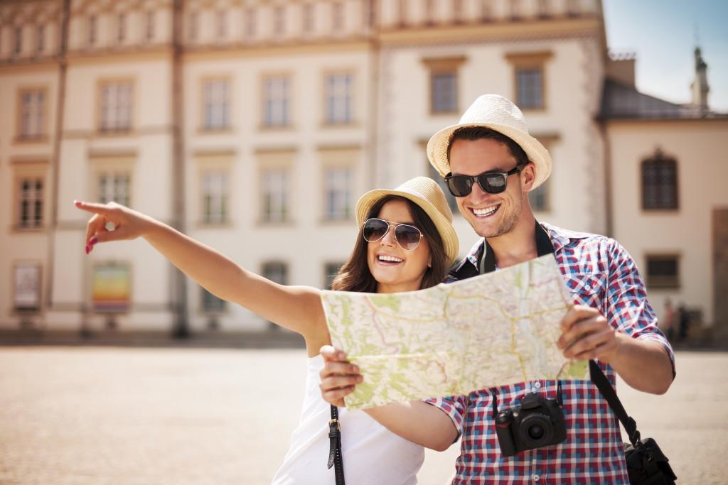 traveling together