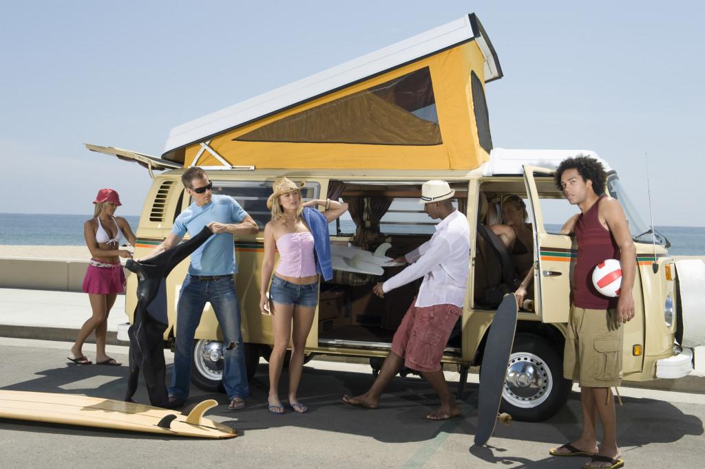 campervan group of people