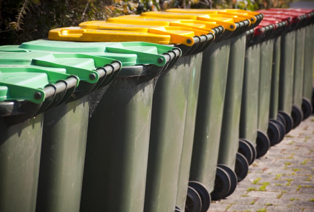waste segregation concept