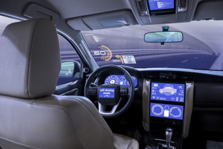 empty driver seat autonomous driving
