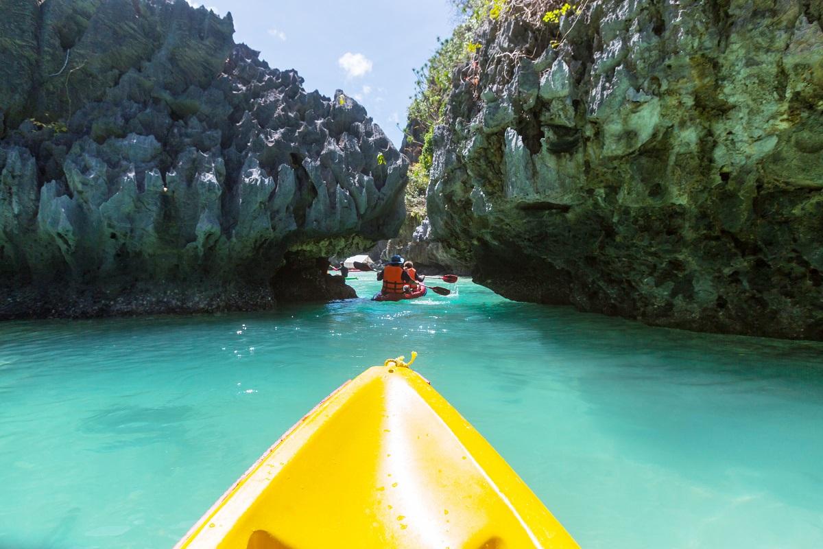 kayaking concept