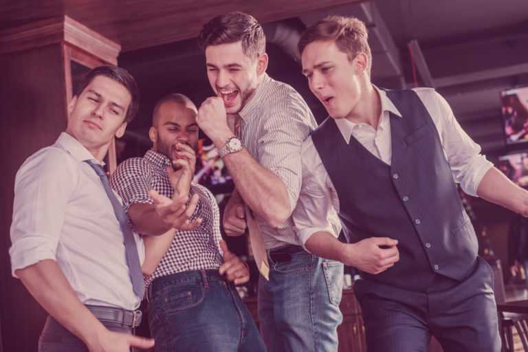 guys having fun