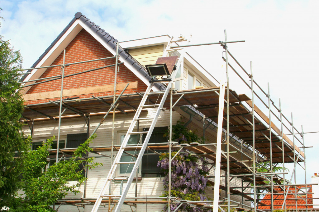 construction exterior